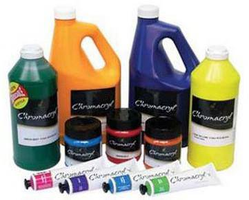 Chromacryl Student Acrylic Paint various sizes