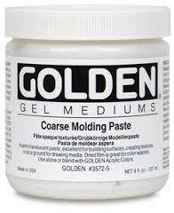 Golden Acrylic Coarse Molding Paste