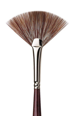 DA VINCI GRIGIO SYNTHETIC FAN 495 BRUSH Size 3