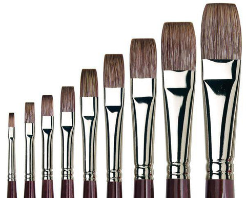 DA VINCI GRIGIO SYNTHETIC FLAT 7195 BRUSH