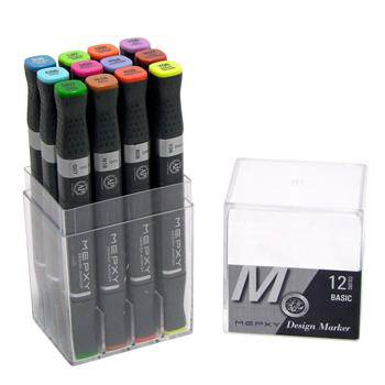 Mepxy Alcohol DESIGN Marker Sets BASIC Colours