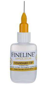 Fineline Applicators with 37ml bottle