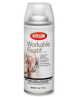 Krylon Workable Fixative Spray No 1374
