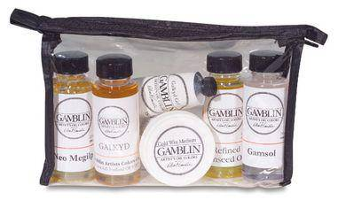 Gamblin Mediums Sample Set