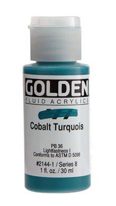 Golden Artist Acrylic Colours - FLUIDS 30ml