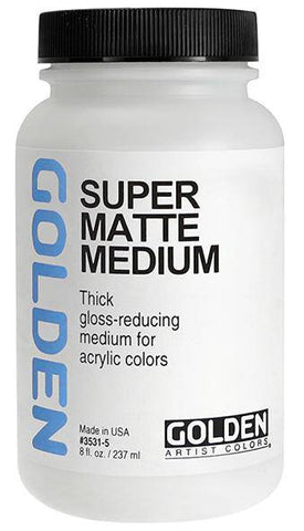 Golden Super Matte Medium (Formally Acrylic Super Loaded Matte Medium)