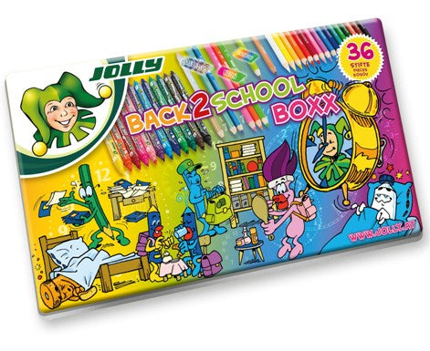 Jolly Back to school Box 36 Pencils & Markers