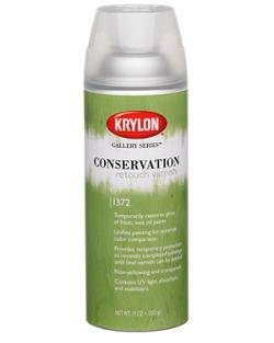 Krylon Conservation Retouch Varnish Gallery Series 1372
