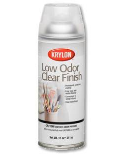 Krylon Low Odour Clear Spray