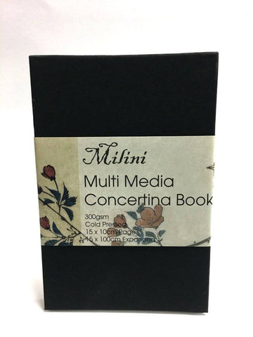 Milini Multi Meedia Concertina Book