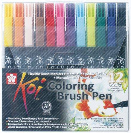 Koi Colouring Brush Pen Sets