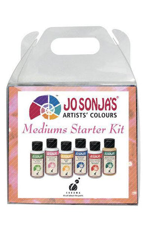 Jo Sonja Mediums Starter Kit 6 X 60ml