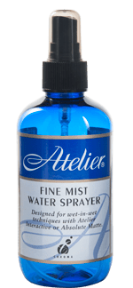 Atelier Fine Mist Water Sprays 250ml