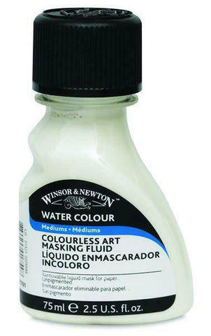 Winsor & Newton Watercolour Colourless Masking Fluid 75ml