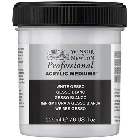 Winsor and Newton 225ml Artist Acylic White Gesso