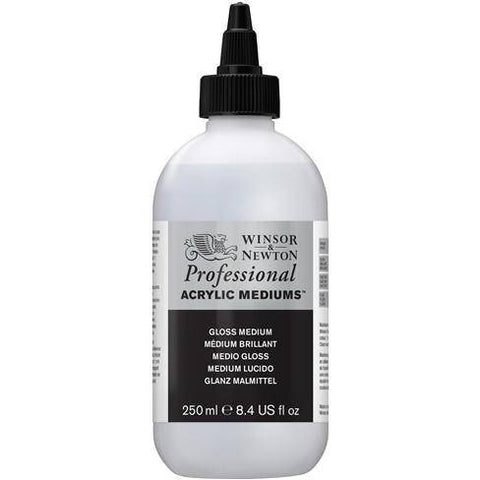 Winsor and Newton 250ml Artist Acylic Gloss Medium