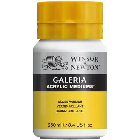 W & N Galeria Acrylic 250ml Gloss Varnish