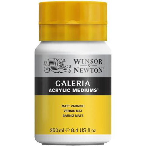 W & N Galeria Acrylic 250ml Matt Varnish
