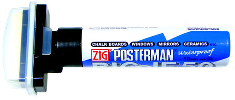 Zig Posterman Biggie 50mm Waterproof Marker