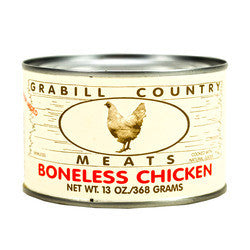 Grabill Country Meats - Boneless Chicken  13 oz