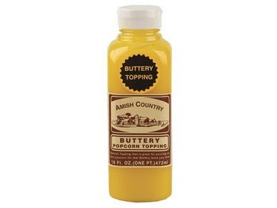 Buttery Popcorn Topping 16 oz