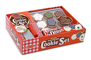 MELISSA & DOUNG Slice & Bake Cookies Set - Play Food Set