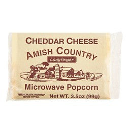 Cheddar Cheese Microwave Popcorn