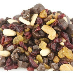 Chocolate Raspberry Truffle Snack Mix