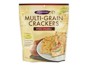 Gluten Free White Cheddar Multi-Grain Crackers 4.5 oz