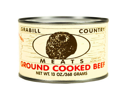 Grabill Country Meats - Ground Beef  13 oz