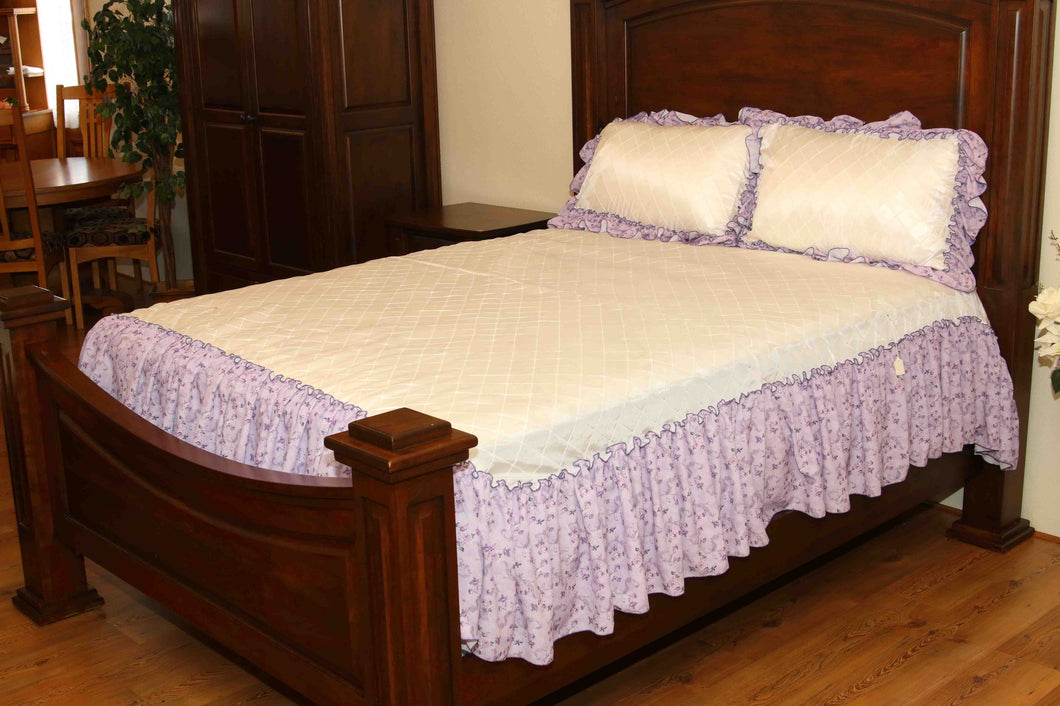 Purple Coverlet
