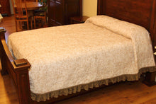 Ecru & Cream Coverlet