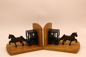Amish Bookends