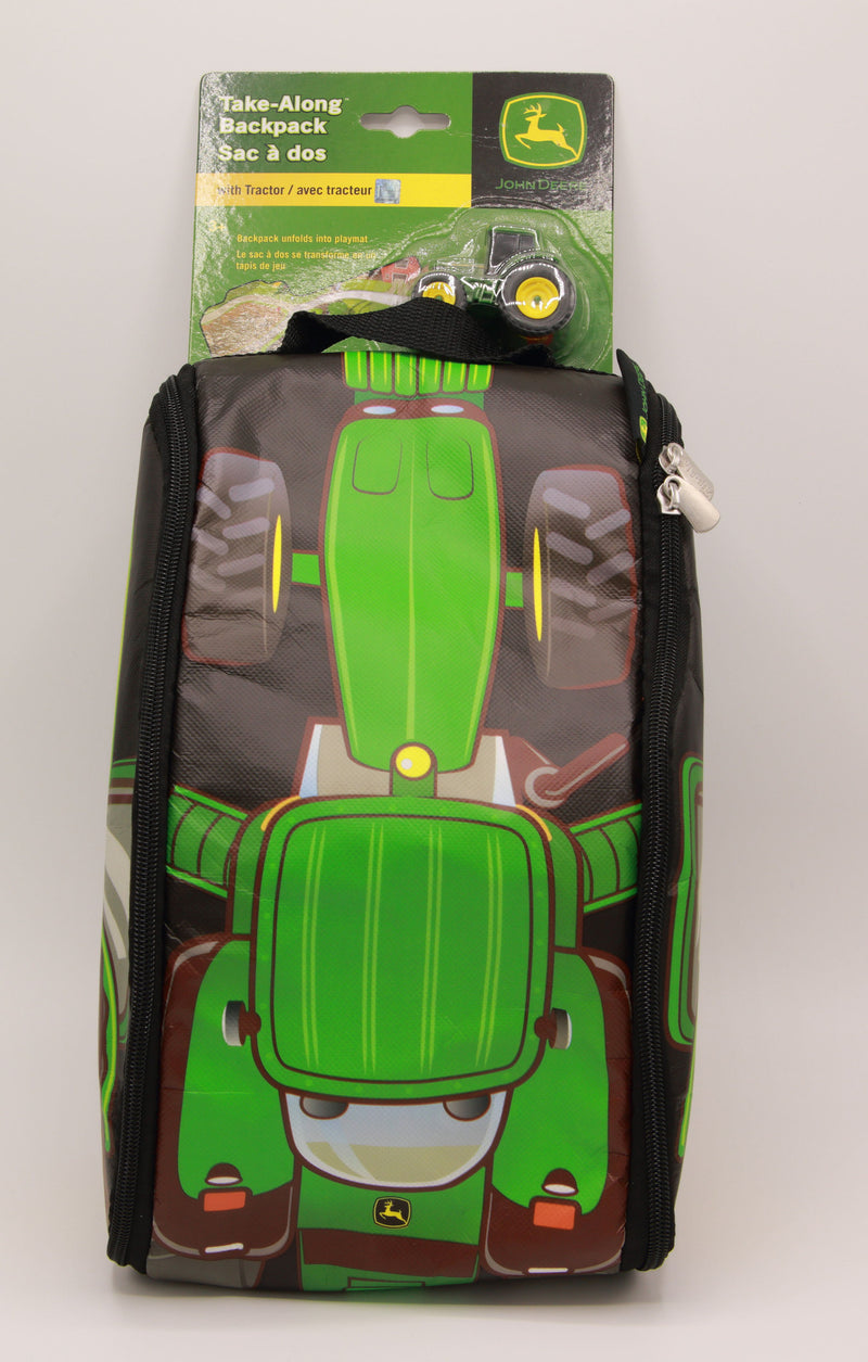 John Deere Backpack & Unfolding Play Mat