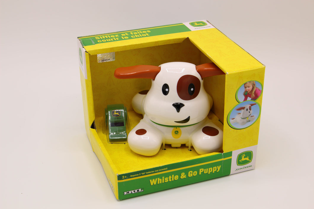 John Deere Whistle & Go Puppy