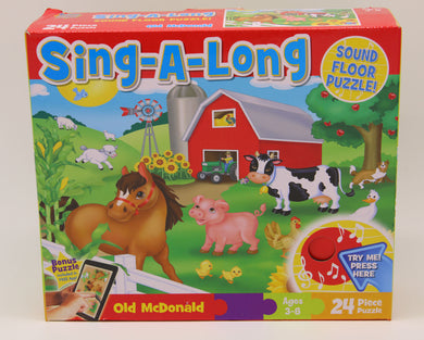 Sing-A-Long Floor Puzzle