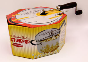 Stove Top Corn Popper
