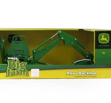 1/16 Big Farm John Deere Green Backhoe Attachment - Ertl