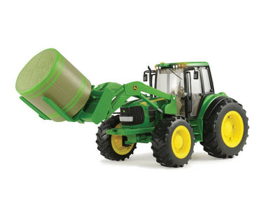 Ertl 1:16 Scale John Deere Big Farm 7330 Tractor with Bale Mover LP51314 / 46380 4 watching
