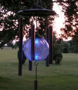 Color Changing Solar Powered Wind Chime i