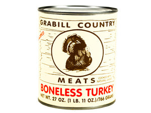 GRABILL COUNTRY MEATS BONELESS TURKEY 27oz