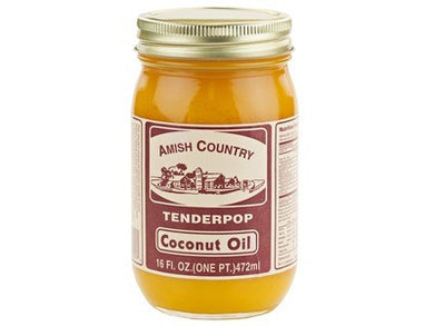 Tenderpop Coconut Oil