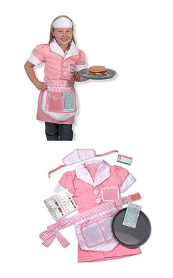 Melissa & Doug Child's Waitress Role Play Set - Ages 3-6