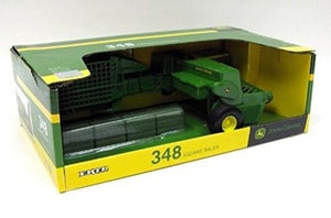 ERTL John Deere 348 Square Baler and 4 Bales 116 Scale