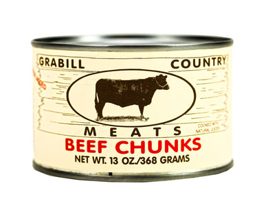 Grabill Country Meats - Beef Chunks 13 oz