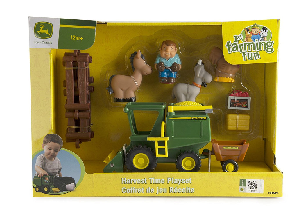 Harvest Play Set John Deere