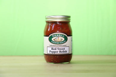 Red Sweet Pepper Relish