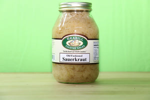 Old Fashioned Sauerkraut