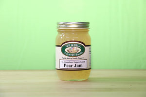 No Sugar Added Pear Jam