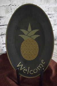 Welcome Pineapple Plate